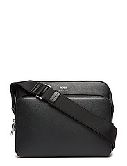 Signature_crossbody Axelväska Svart BOSS BUSINESS WEAR