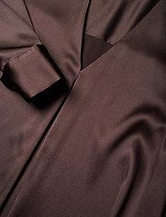 BOSS - Bintu - langærmede bluser - dark brown - 2