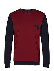 Balance LS-Shirt RN - DARK RED