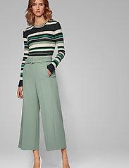 BOSS - Trima1 - bukser med brede ben - light/pastel green - 4