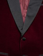 BOSS - Helward4_1 - enkeltradede jakkesæt - dark red - 2
