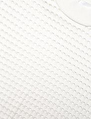 BOSS - C_Felilah - strikkede toppe - open white - 2