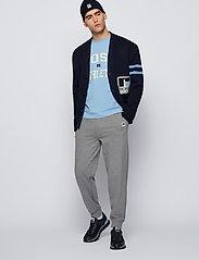 BOSS - BOSS x Russell Athletic Arigon_Runn_RA - låga sneakers - dark blue - 0