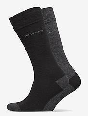 BOSS - 2P RS Heel&Toe CC - regulære sokker - black - 0