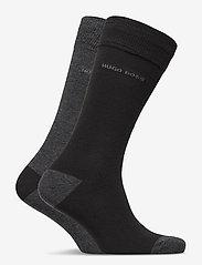 BOSS - 2P RS Heel&Toe CC - regulære sokker - black - 3