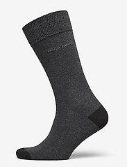 BOSS - 2P RS Heel&Toe CC - regulære sokker - black - 2