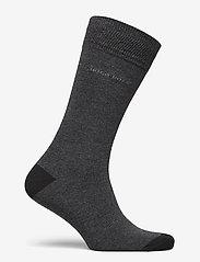 BOSS - 2P RS Heel&Toe CC - regulære sokker - black - 1