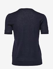 BOSS - Falyssa - strikkede toppe - open blue - 1