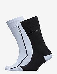 BOSS - 2P RS Logo Stripe CC - regulære sokker - light/pastel blue - 0