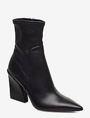 BOSS - Kristin Bootie 90-C - ankelstøvler med hæl - dark blue - 0
