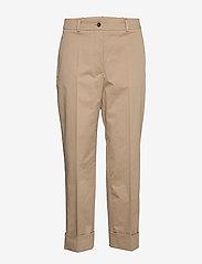 BOSS - Tachino - bukser med lige ben - medium beige - 0