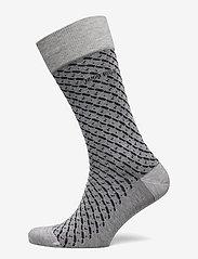 BOSS - RS Minipattern MC - regulære sokker - silver - 0