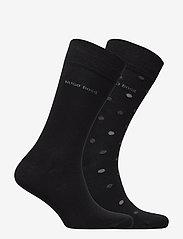 BOSS - 2P RS Dot CC - regulære sokker - black - 1