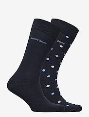 BOSS - 2P RS Dot CC - regulære sokker - dark blue - 1