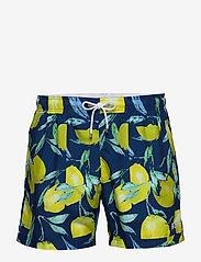 BOSS - Lemon Shark - badebukser - open blue - 0