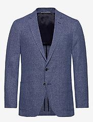 BOSS - Haylon - enkeltradede blazere - open blue - 0