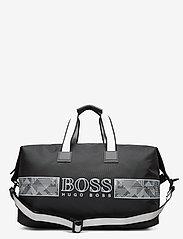 BOSS - Pixel O_Holdall - weekendtasker - dark grey - 0