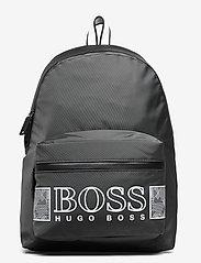 BOSS - Pixel O_Backpack - rygsække - dark grey - 0