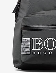 BOSS - Pixel O_Backpack - rygsække - dark grey - 3