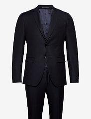 BOSS - Reymond/Wenten - enkeltkneppede dresser - dark blue - 0