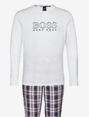 BOSS - Cosy Long Set - pyjamas - dark red - 0