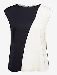 BOSS - Ianno - blouses sans manches - open blue - 0