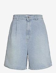 BOSS - DENIM SHORTS 1.0 - jeansshorts - medium blue - 0