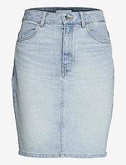 BOSS - DENIM SKIRT 1.0 - jupes en jeans - turquoise/aqua - 0
