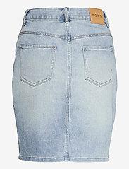 BOSS - DENIM SKIRT 1.0 - jupes en jeans - turquoise/aqua - 1