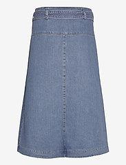 BOSS - DENIM SKIRT 7.0 - jupes portefeuille - medium blue - 1