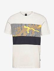 BOSS - Tiburt  217 - t-shirts à manches courtes - open white - 0