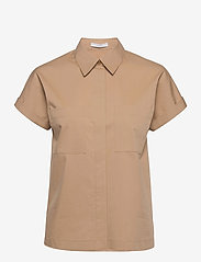 BOSS - Baranda - chemises à manches courtes - medium beige - 0