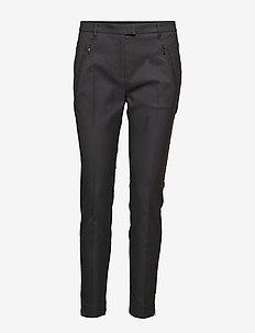 Anaita5 - bukser med lige ben - black