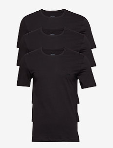 T-Shirt RN 3P CO - multipack - black