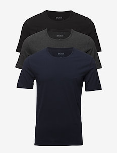 T-Shirt RN 3P CO - multipack - open blue