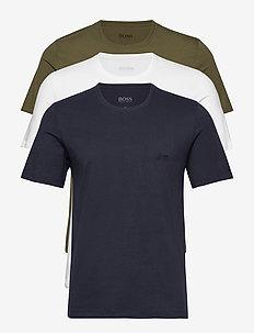 T-Shirt RN 3P CO - multipack - open green