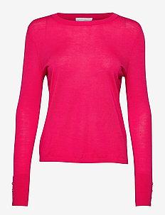 Frankie - gensere - medium pink