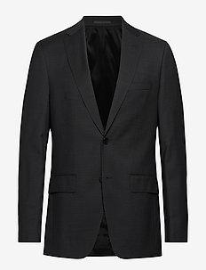 Johnstons5 - enkeltradede blazere - black