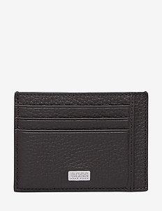 Crosstown_S card N - plånböcker - dark brown