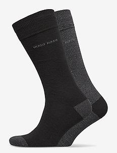 2P RS Heel&Toe CC - regulære sokker - black