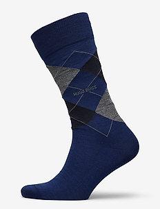 John RS Argyle WO - regulære sokker - open blue
