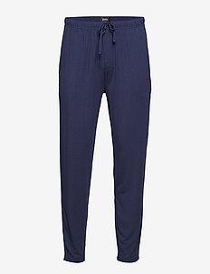 Silk Pants - DARK BLUE