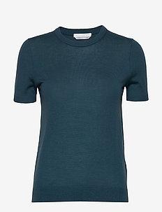 Falyssa - strikkede toppe og t-shirts - navy