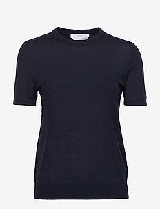 Falyssa - strikkede toppe og t-shirts - open blue