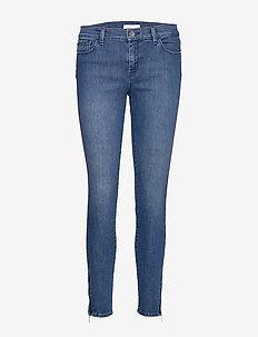 J15 Nafice Zip - skinny jeans - medium blue