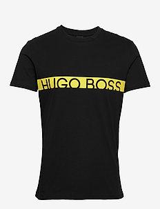 T-Shirt RN - kortærmede t-shirts - black