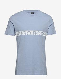 T-Shirt RN - kortærmede t-shirts - light/pastel blue