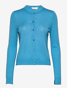 Fovetexa - cardigans - bright blue