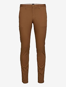 Kaito1 - chinos - dark brown