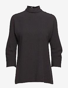 Babeca - langærmede bluser - black